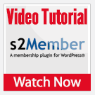 Video Tutorial: S2Member - An Introduction To The Training Video Series